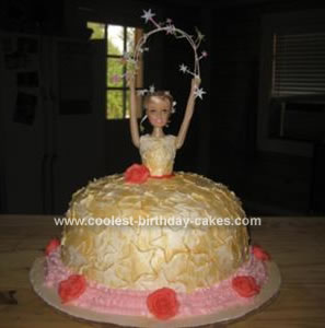 Twinkle Twinkle Little Star Princess Barbie Birthday Cake
