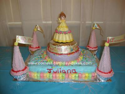 Homemade Princess Cake Ideas Photograph Coolest B