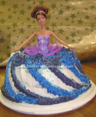 Homemade Princess Birthday Cake
