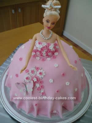 Homemade Princess Birthday Cake Design