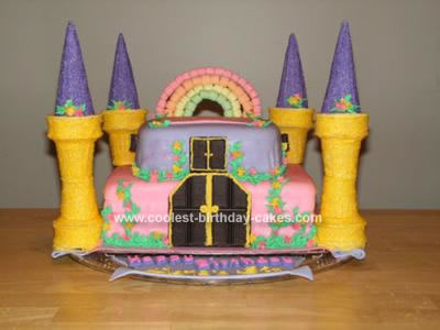 Homemade Princess Castle