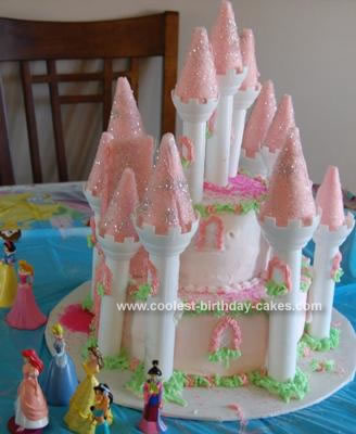 Birthday Cake Picture on Coolest Princess Castle Birthday Cake 264