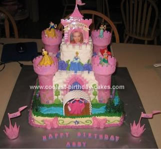 Disney Princess Birthday Cakes on Coolest Princess Castle Birthday Cake 279 21344248 Jpg