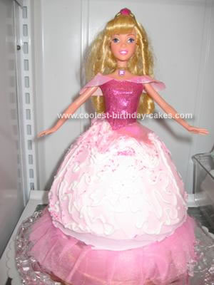 Sleeping Beauty Princess Doll Cake