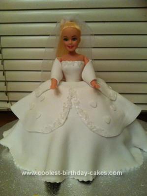 Homemade Princess Doll Cake