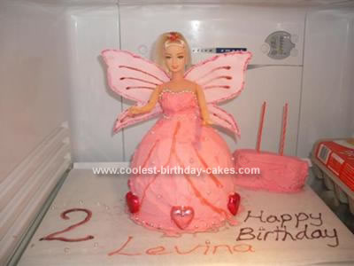 Homemade Princess Fairy Cake