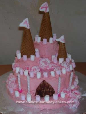 Vegan Birthday Cake Recipe on Birthday Cake On Coolest Princess Rose Palace Gluten Free Cake 528