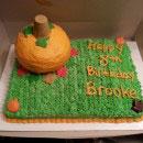Pumpkins Birthday Cakes