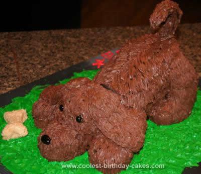 Homemade Puppy Cake