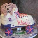 Roller Skates Birthday Cakes