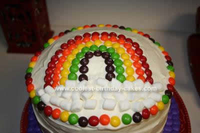 Rainbow Birthday Cake on Coolest Rainbow Birthday Cake 17