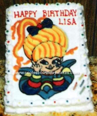 Cartoon Birthday Cake Photos