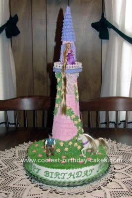 Tangled Birthday Party Ideas on Coolest Rapunzel Birthday Cake Design 11