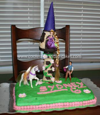 Tangled Birthday Cake on Coolest Rapunzel Tangled Birthday Cake 26
