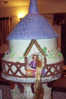 Tangled Birthday Cake on Coolest Rapunzel Tangled Cake 7