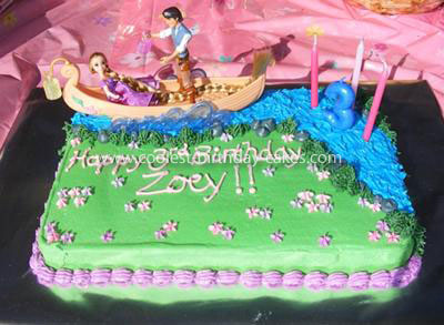 Tangled Birthday Cake on Coolest Rapunzel  Tangled  Lantern Scene Cake 17