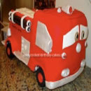 Red the Firetruck Birthday Cakes