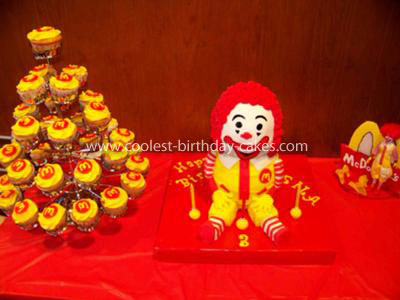 Birthday Mac Donalds Party Invitations Ideas