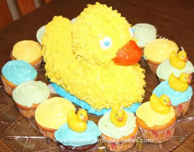 Homemade Rubber Duckie Cake