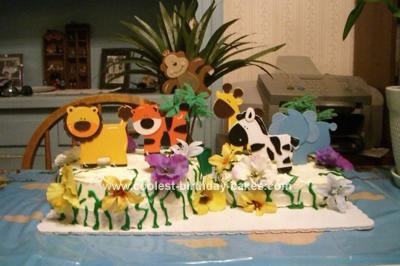 Craft Ideas Michaels on Coolest Safari Shower Cake 46 21338341 Jpg