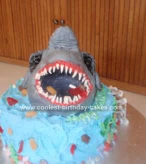 Shark Cakes 6