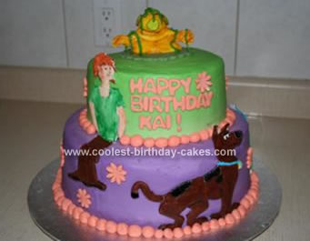 Scooby Doo Birthday Cakes Clipart Images