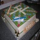 Scrabble Birthday Cakes