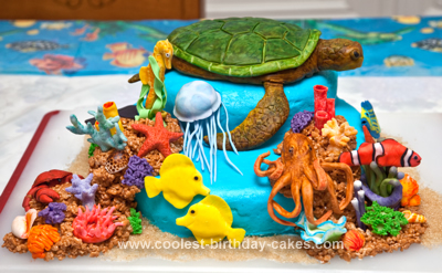 Coolest Sea Turtle Reef Cake 57