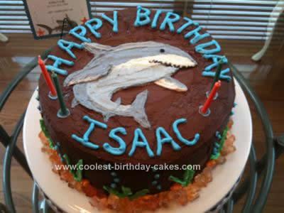 Birthday Cake Ideas Shark