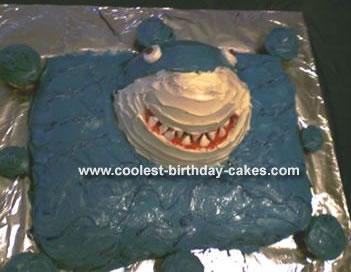 Shark Cakes 9