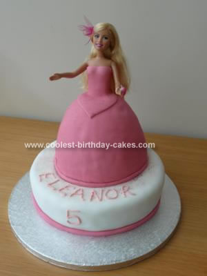 Homemade Sharpay HSM Birthday Cake