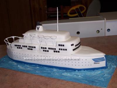 Fair Sky Ship Cake