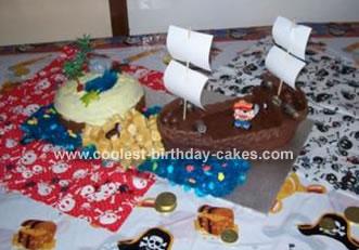Shipwreck Island Cake