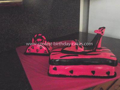 Coolest Shoe and Purse Birthday Cake