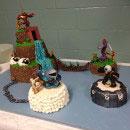 Skylanders Birthday Cakes