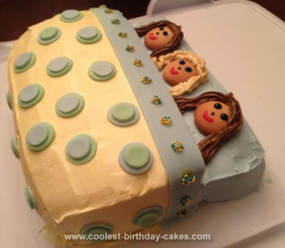 Homemade Sleepover Cake