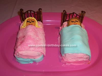 Girl Birthday Cakes on Coolest Slumbering Girls Birthday Cake 24