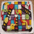 Snakes and Ladders Birthday Cakes