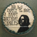 Snape Birthday Cakes