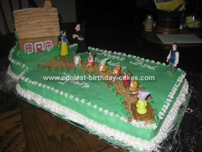 snow white cake images. Snow White and Dwarfs Cake