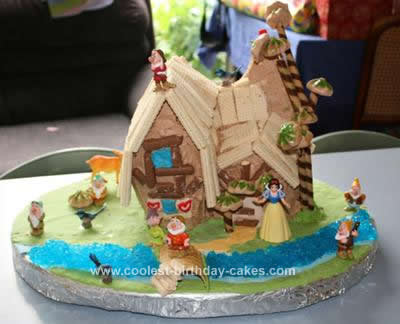 Coolest Snow White And The Seven Dwarfs Cottage Birthday