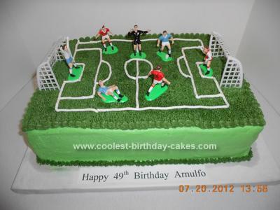 Soccer Figures For Birthday Cake