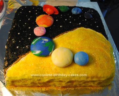 3d solar system birthday cake - photo #11