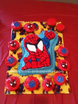 Spiderman Birthday Cake on Coolest Spiderman Birthday Cake 109