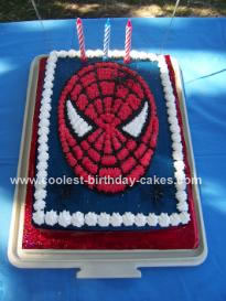Spiderman Birthday Cake on Coolest Spiderman Birthday Cake 59 21347396 Jpg