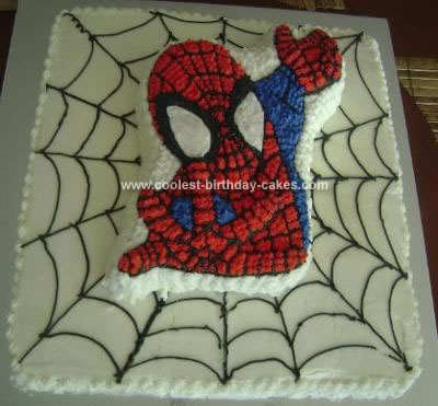 Spiderman Birthday Cake on Coolest Spiderman Birthday Cake 62