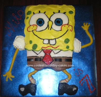 spongebob birthday cake show