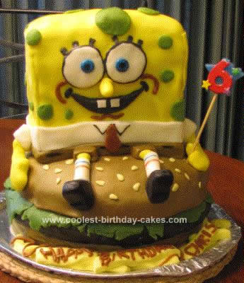 Spongebob Birthday Cakes on Coolest Spongebob Birthday Cake Idea 221