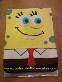 Spongebob Birthday Cakes on Coolest Spongebob Birthday Cake Idea 234