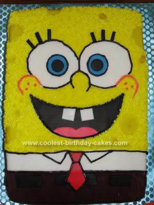 Spongebob Birthday Cakes on Coolest Spongebob Squarepants Birthday Cake 233